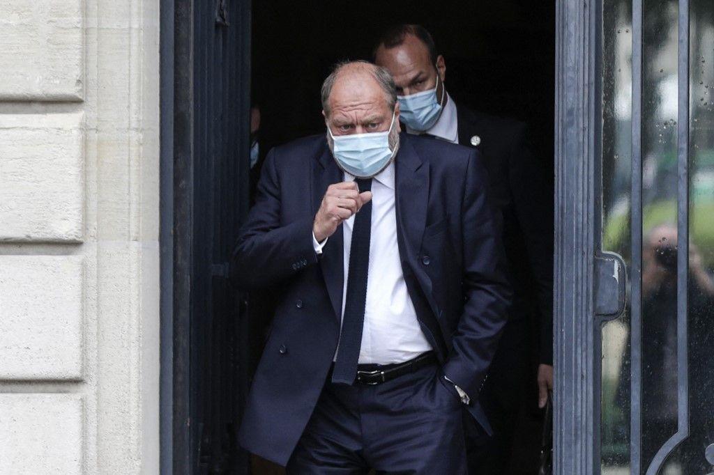 Après six heures d'examen, Dupond-Moretti est mis en examen par la Cour de Justice de la République