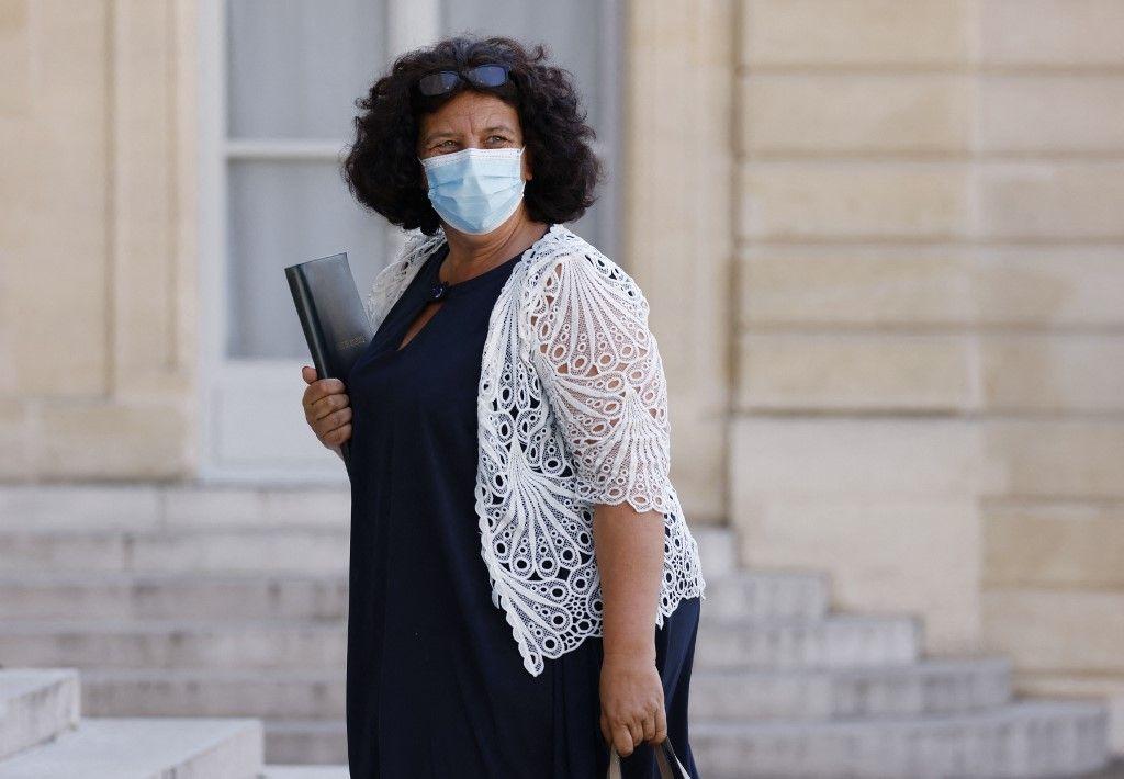 Frédérique Vidal à l'Elysée, le 19 juillet 2021.