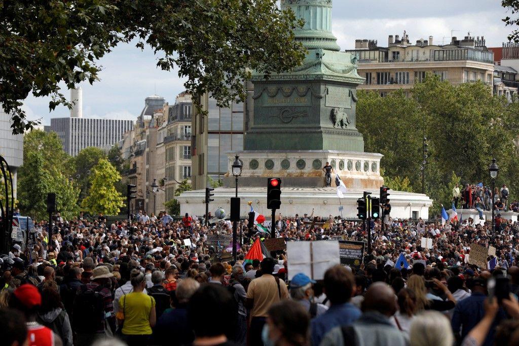 A Paris, plus de 14.000 personnes ont manifesté, selon la police.