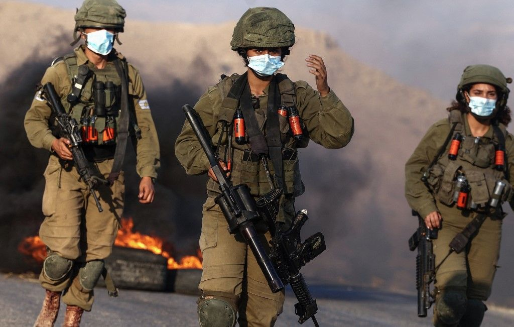 Des soldats israéliens en juillet 2021.