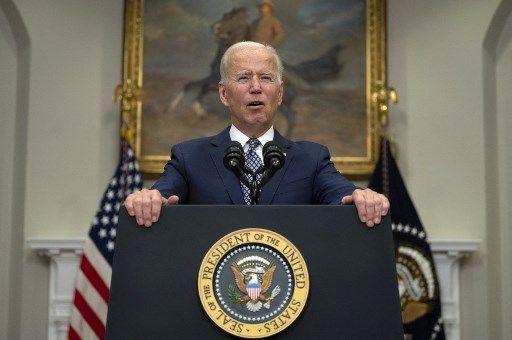 Joe Biden s'exprime sur l'évacuation en cours en Afghanistan, le 24 août à la Maison blanche.