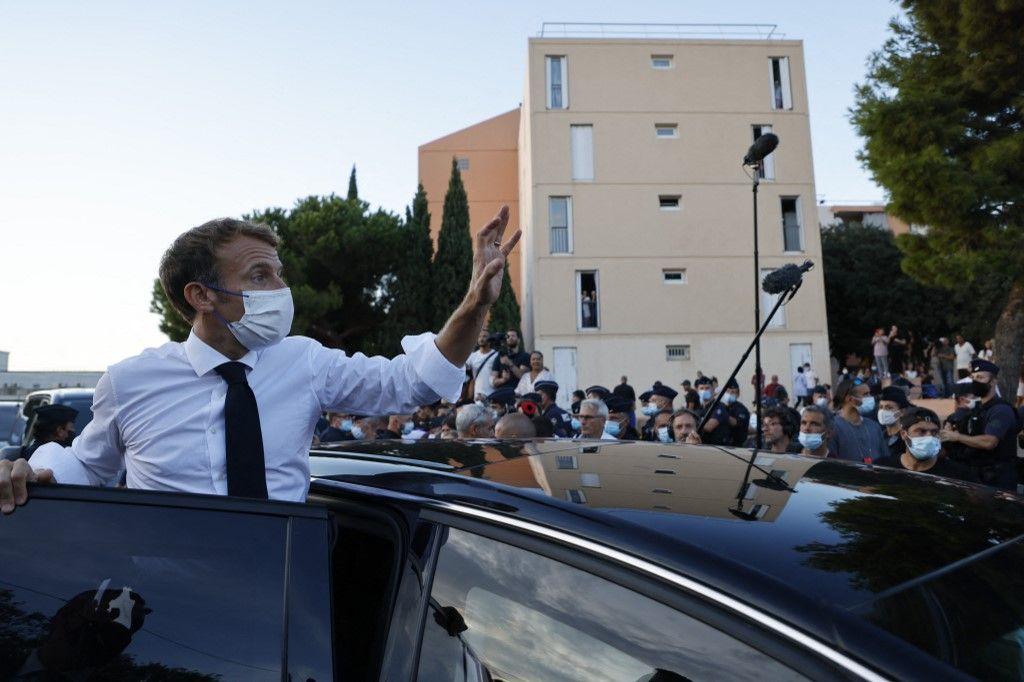 Visite de Macron à Marseille : la cité Bassens nettoyée de fond en comble avant la visite du président