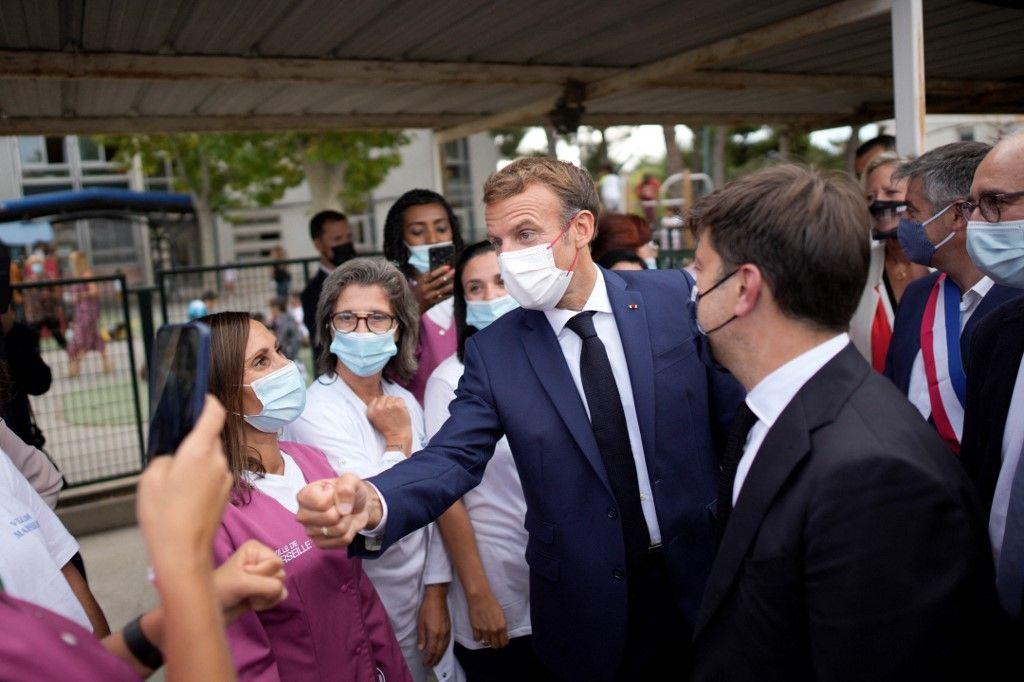 En déplacement à Marseille, le ministre de l'Éducation a été accueilli sous les huées