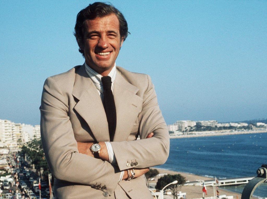 Jean-Paul Belmondo au Festival de Cannes, en mai 1974. Un hommage national est organisé aux Invalides ce jeudi 9 septembre.