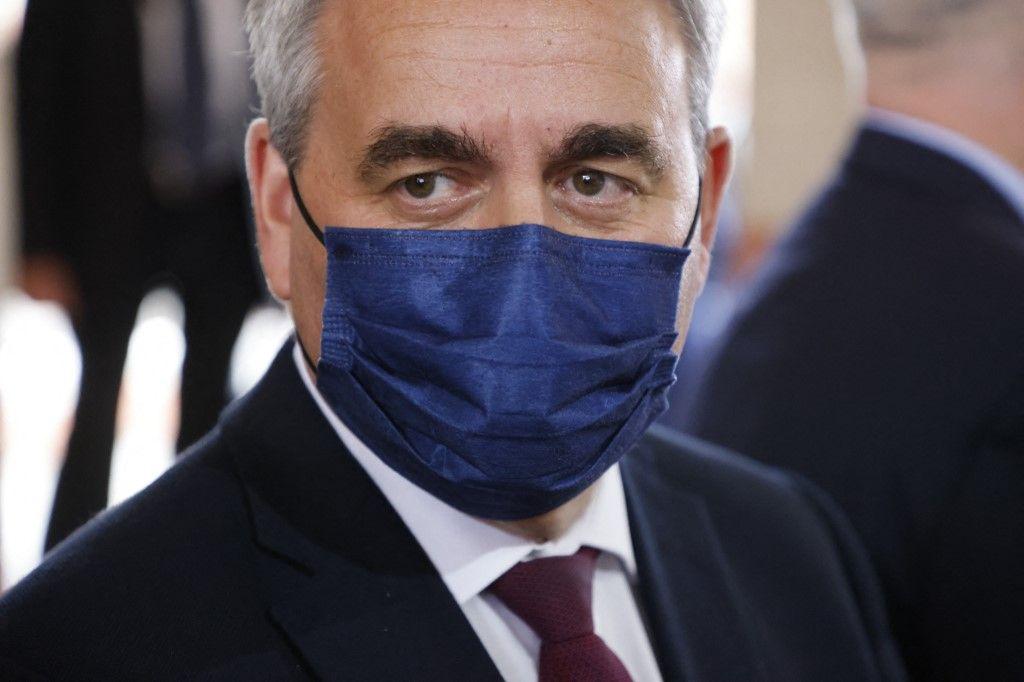 Xavier Bertrand, candidat déclaré à l'élection présidentielle de 2022.