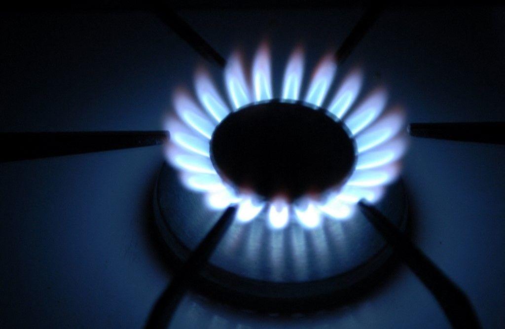 Une photo prise le 29 mai 2007 de plaques de cuisson fonctionnant au gaz à Paris. Le 20 septembre 2021, le gouvernement britannique a cherché à atténuer la flambée des prix du gaz.