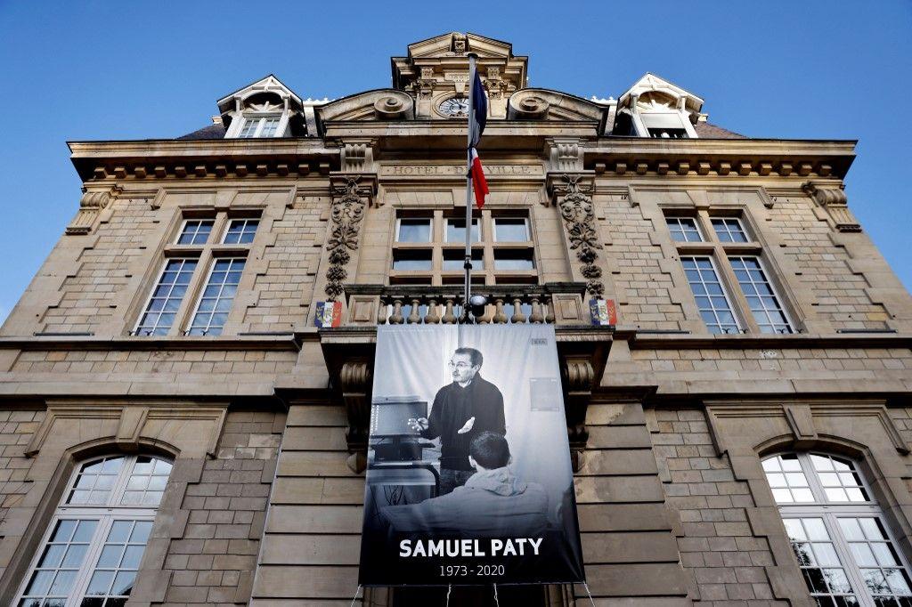 Le professeur d'histoire-géo Samuel Paty a été assassiné le 16 octobre 2020.