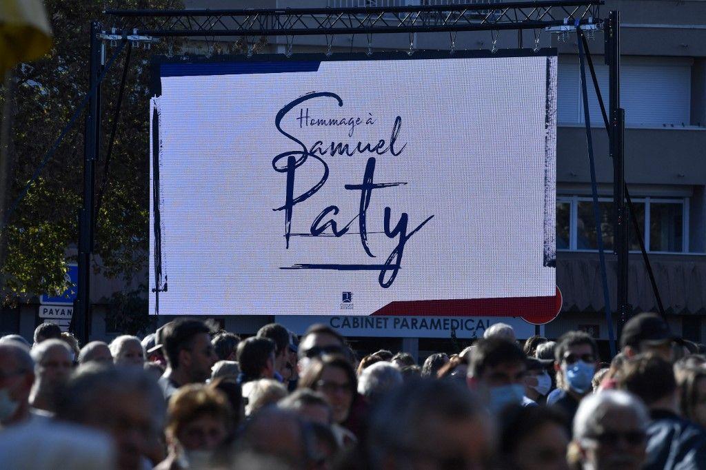 Un hommage a été rendu à Samuel Paty le samedi 16 octobre.