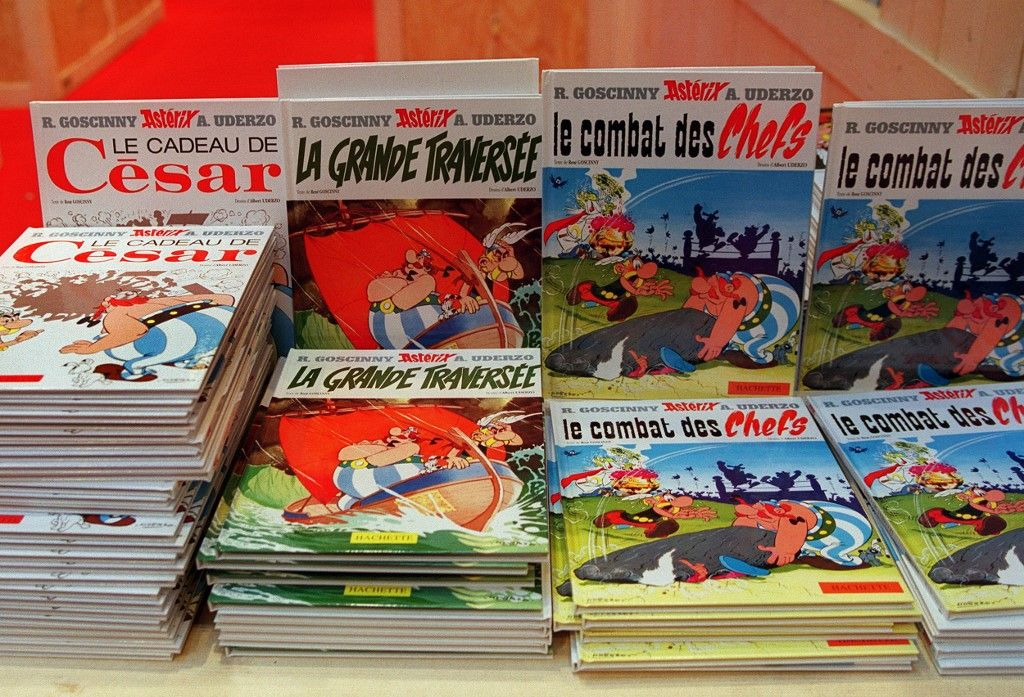 Les bande dessinées Astérix se sont vendues à des dizaines de millions d'exemplaires.