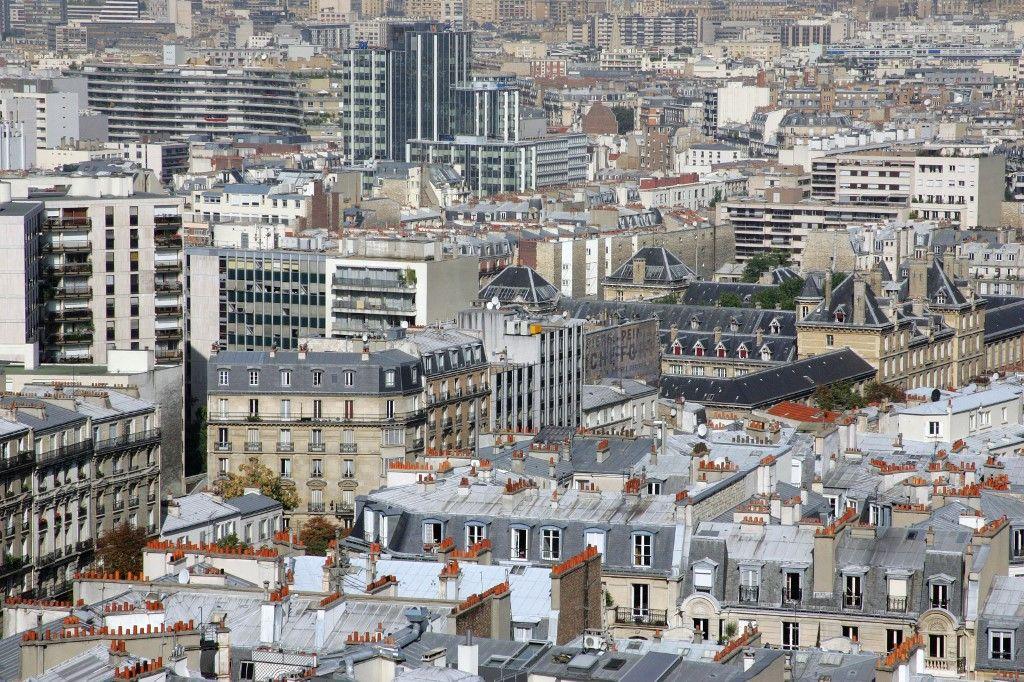 Une vue des immeubles de Paris. Les facteurs déterminants pour le prix de l'immobilier ne sont pas ceux qui sont le plus souvent avancés.