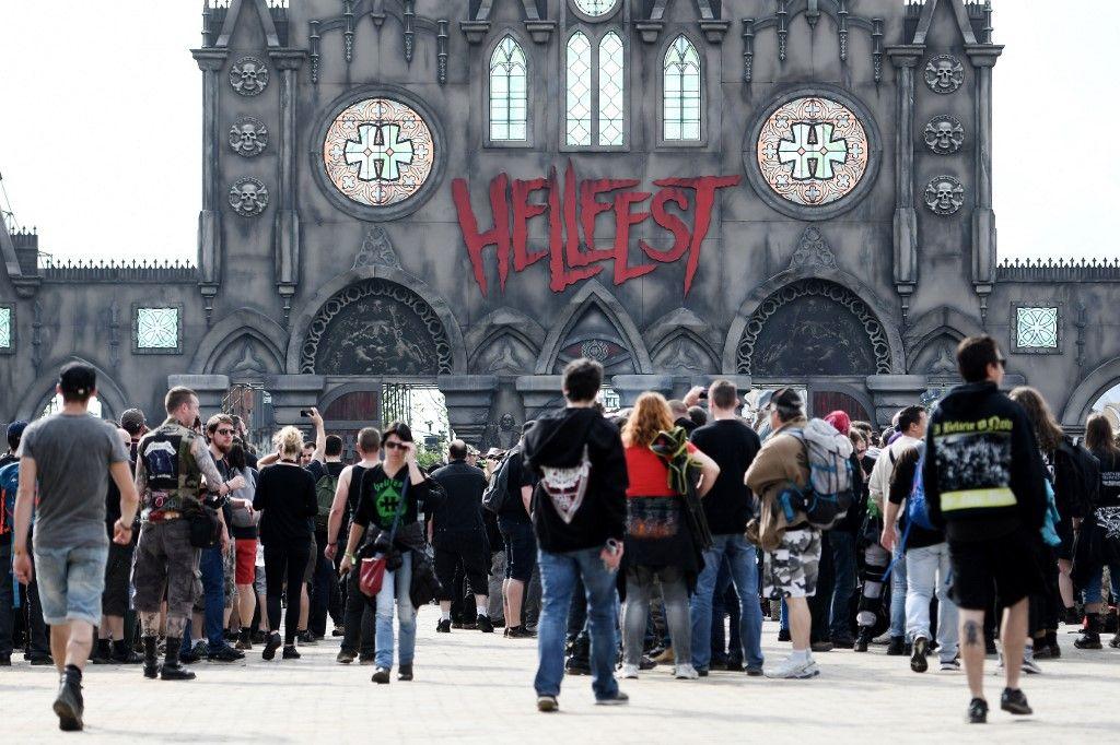 Coronavirus : l'édition 2020 du festival Hellfest de musique metal, organisé à Clisson, est annulée