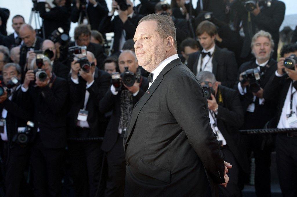 """Le producteur Harvey Weinstein le 24 mai 2013 arrive pour la projection du film """"The Immigrant"""" présenté en Compétition à la 66e édition du Festival de Cannes."""