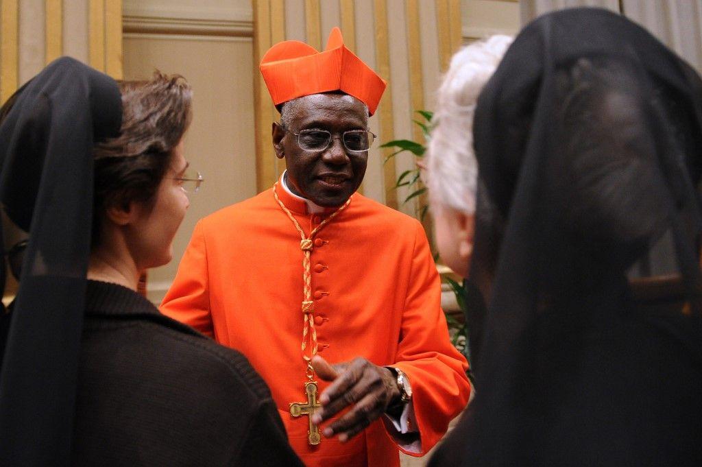 """Cardinal Robert Sarah : """"Ceux qui veulent m'opposer au Pape perdent leur temps et leurs propos ne sont que le paravent qui masque leur propre opposition au Saint-Père"""""""
