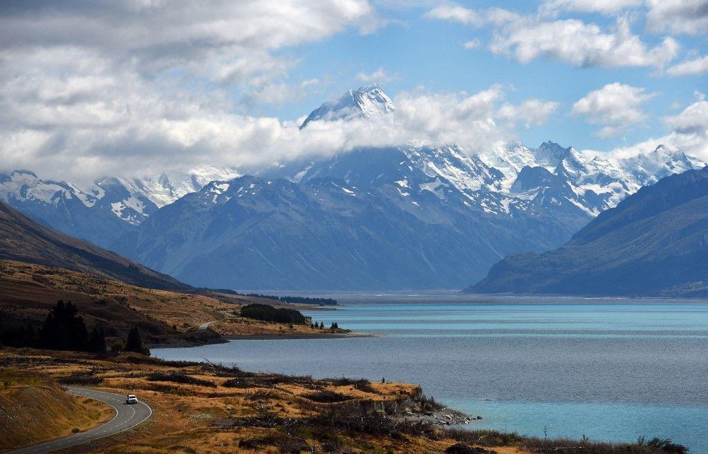 Le Mont Cook, en Nouvelle-Zélande.