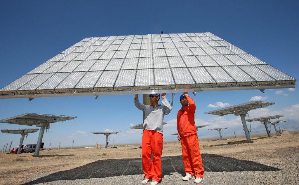 La Chine est d'ores et déjà le premier producteur de panneaux solaires au monde.