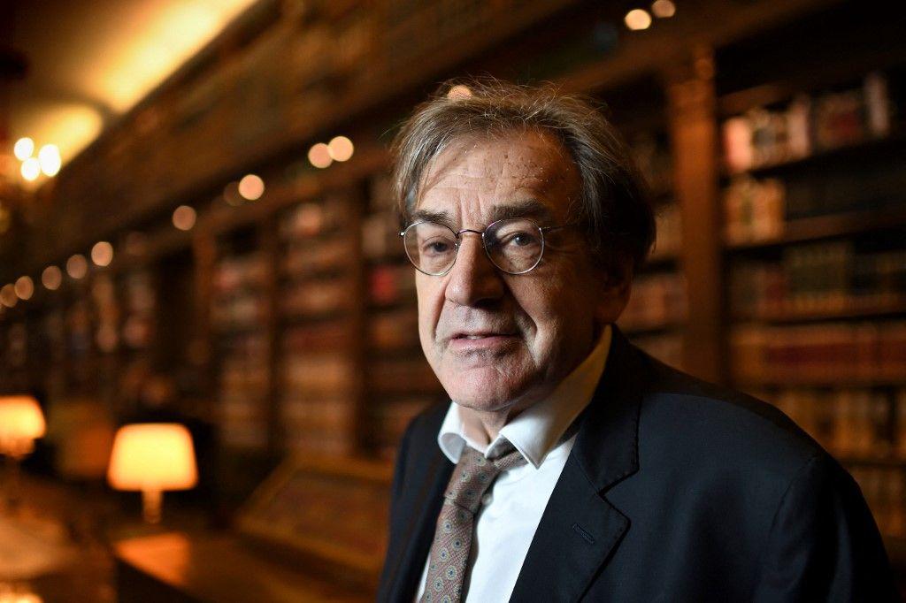 """Alain Finkielkraut publie """"L'après- littérature"""" aux éditions Stock"""
