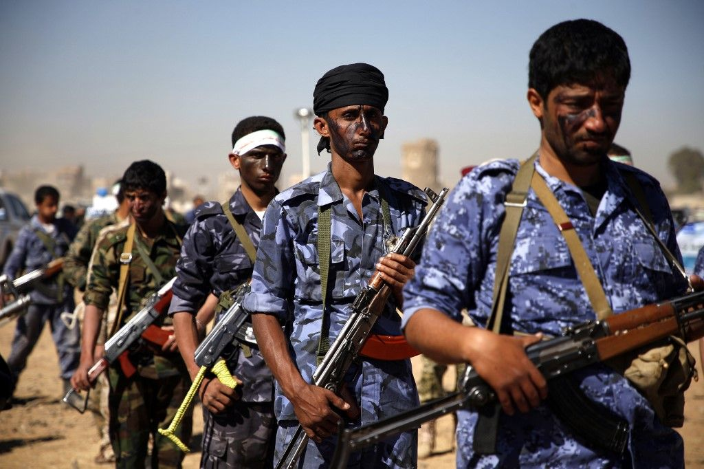soldats Houthis