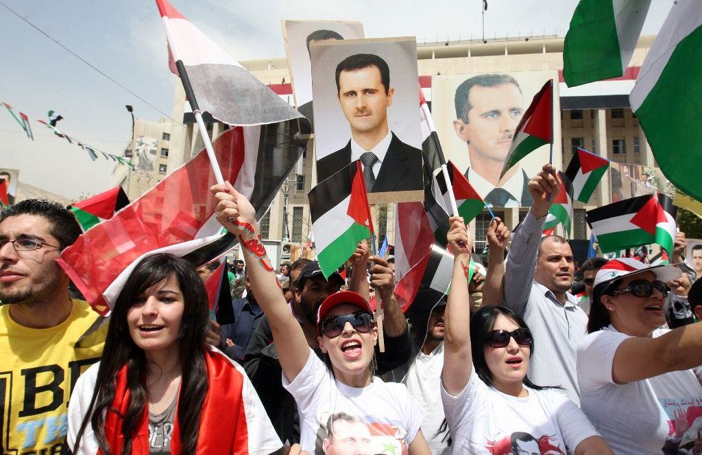 Bachar Al-Assad peuple syrien