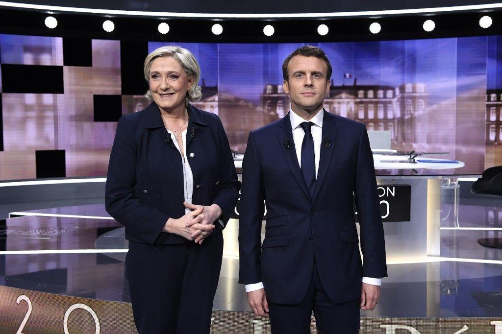 Un récent sondage Harris Interactive place Marine Le Pen dans la marge d'erreur face à Emmanuel Macron dans un éventuel second tour en 2022 lors de l'élection présidentielle.