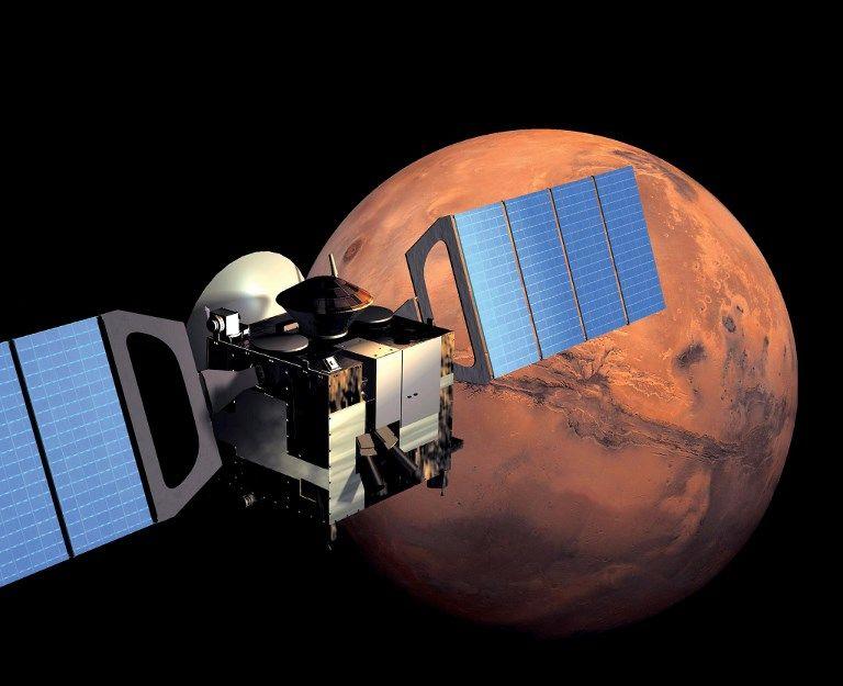 Espace : un vaste lac de glace photographié sur Mars