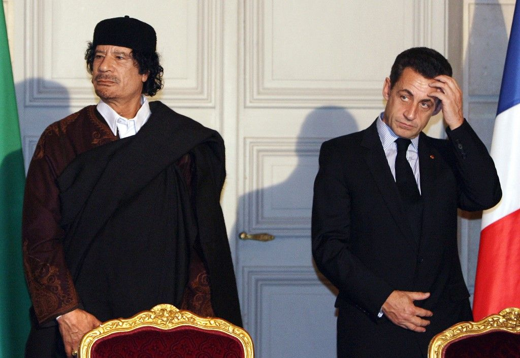 Nicolas Sarkozy financement libyen