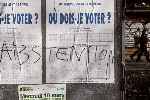 L'abstention pourrait atteindre des records lors des élections régionales et départementales de ce dimanche.