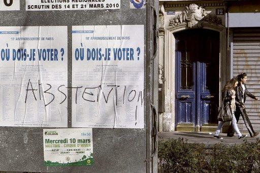 Le premier tour des élections régionales et départementales, le 20 juin 2021, a été marqué par une abstention record.