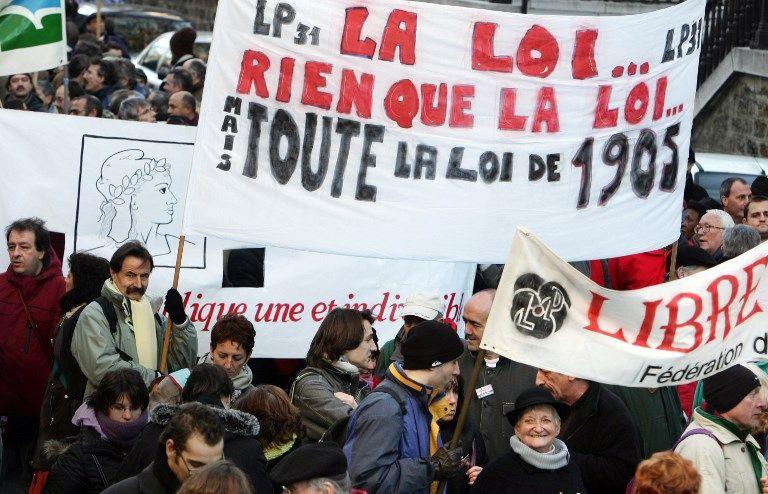 Face à l'islam, les Français inquiets pour la laïcité