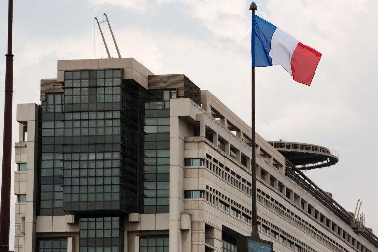 Une vue du ministère de l'Economie et des Finances.