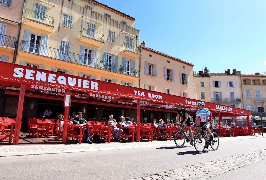 Sénéquier Saint-Tropez restaurant covid-19 coronavirus