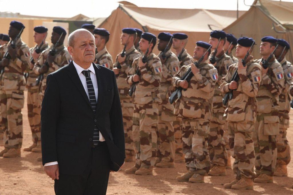opération serval militaires Mali Sahel Jean-Yves Le Drian