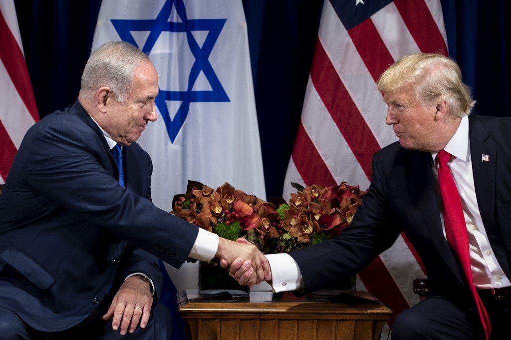 Donald Trump Benyamin Netanyahou accord historique Israël Emirats arabes unis