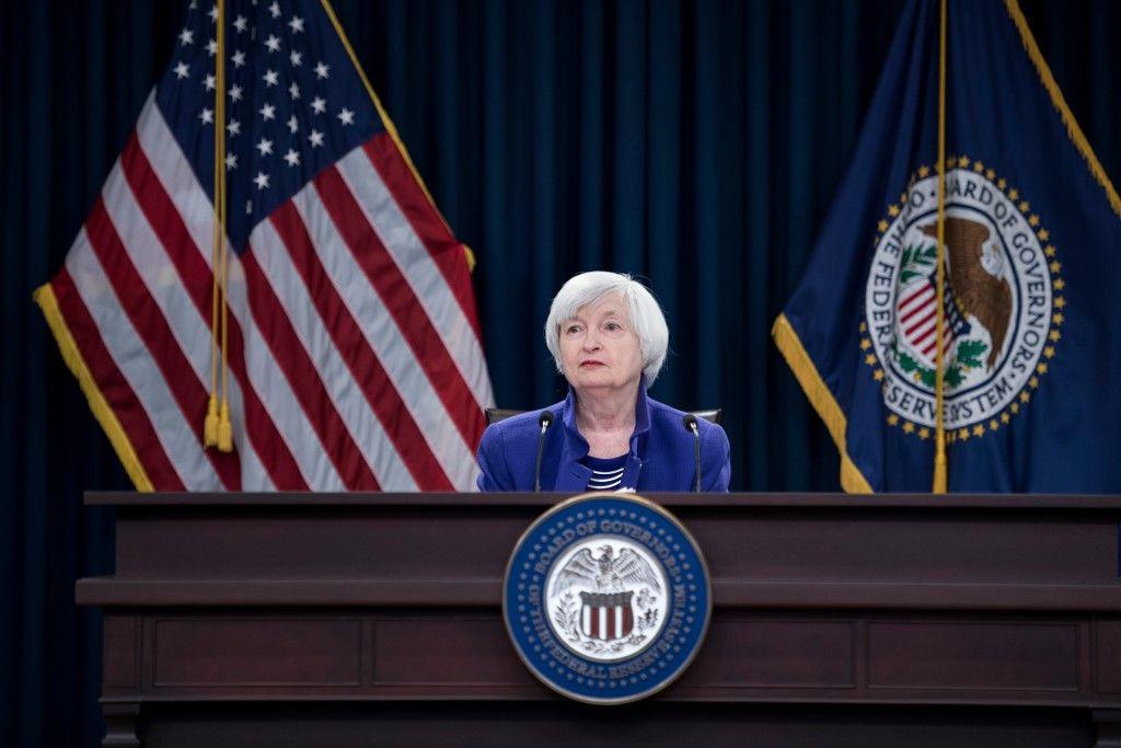 Janet Yellen banque centrale fed donald trump Joe Biden
