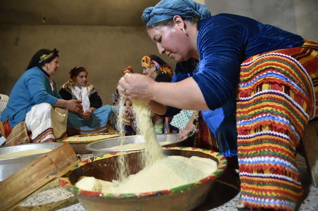 couscous tradition héritage recette Malika Bendouda ministre algérienne UNESCO