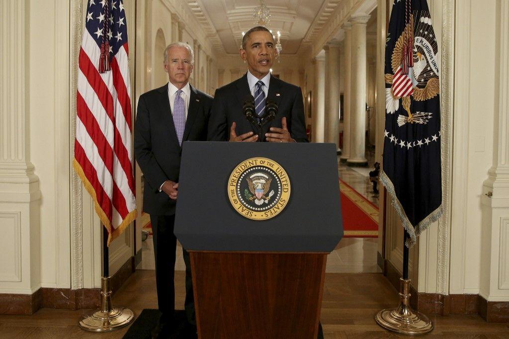 Joe Biden Barack Obama bilan politique étrangères démocrates Maison Blanche