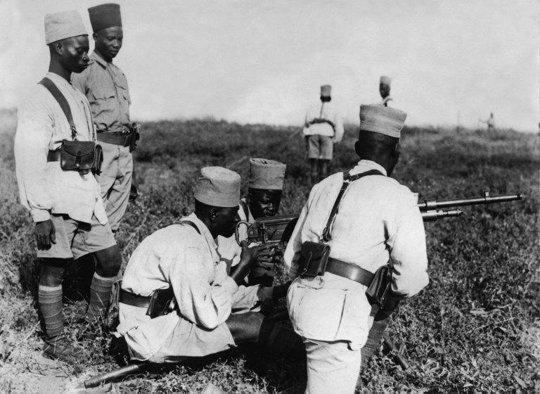 Le sang versé des bataillons des colonies pendant la Première Guerre mondiale