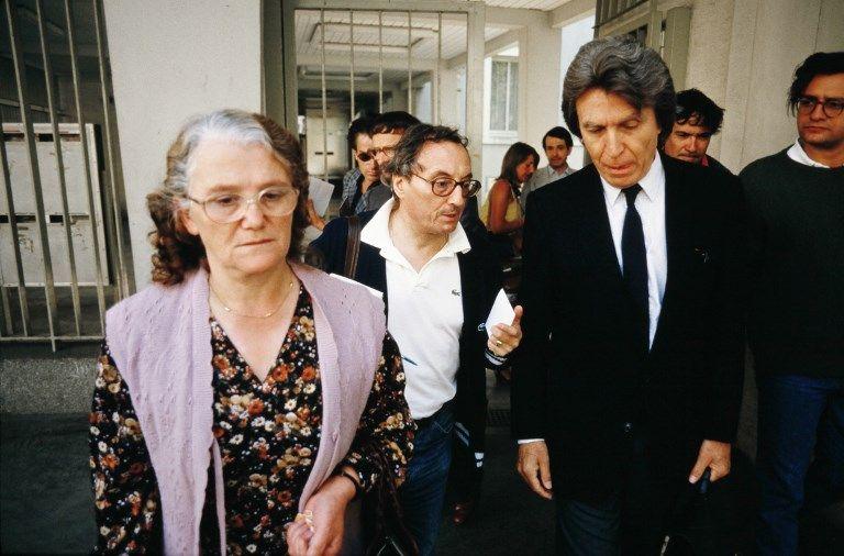Monique Villemin (à gauche) en 1985.