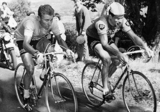 Jacques Anquetil versus Raymond Poulidor : comment les rivaux du Tour de France sont devenus amis