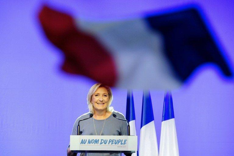 """Pour Marine Le Pen, Macron est """"le meilleur candidat du système"""""""