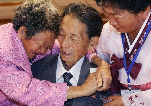 Corées : les familles séparées se retrouvent pour quelques jours