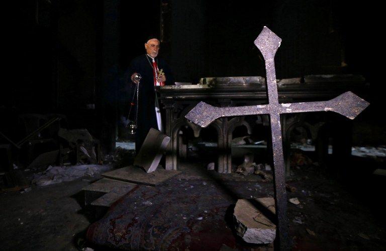 Pourquoi les Chrétiens d'Irak risquent bien de ne jamais retourner à Mossoul après la fin de la bataille