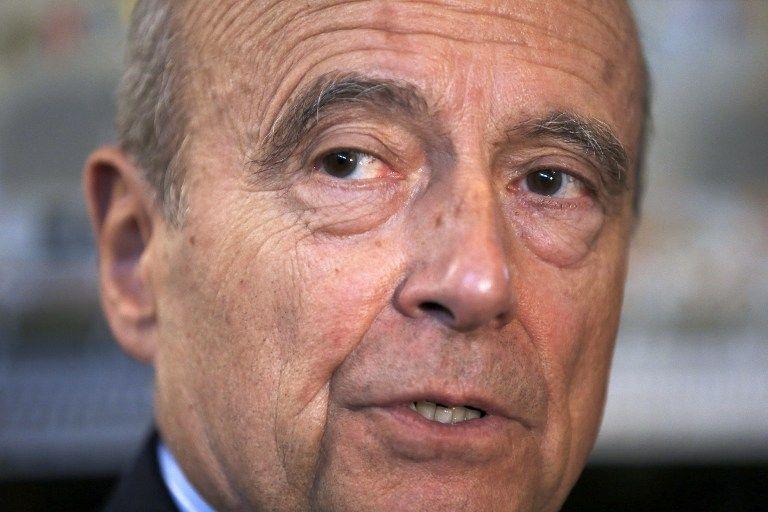 """Alain Juppé : """"l'échec de la ligne politique"""""""