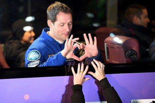 Thomas Pesquet est en route pour la terre à bord de la capsule Soyouz