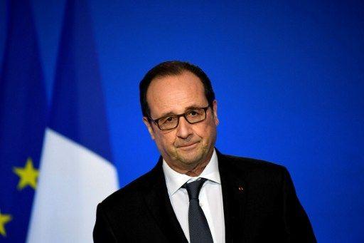 """Syrie : Trump """"a créé un événement qui doit être utilisé politiquement par la France"""" estime Hollande"""