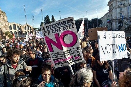 Référendum constitutionnel en Italie : derniers jours de campagne