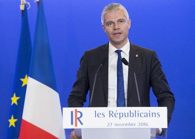 """Selon Laurent Wauquiez, Emmanuel Macron """"fait une profonde erreur en achetant les trahisons"""""""