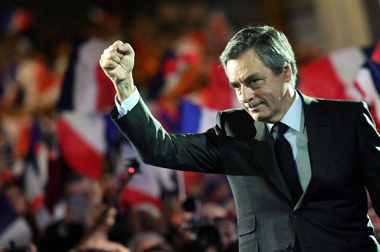 """Meeting du sursaut pour François Fillon :""""J'ai le cuir solide mais qu'on laisse ma femme en dehors de ce débat politique"""""""