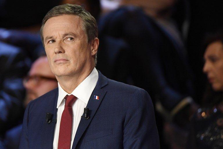 """Nicolas Dupont-Aignan : """"Le discours de Laurent Wauquiez est très proche du mien : s'il est sincère, il faudra comme moi qu'il franchisse le Rubicon"""""""