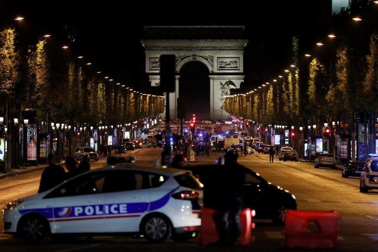 Attentat des Champs-Elysées : un individu lié au tireur placé en garde à vue