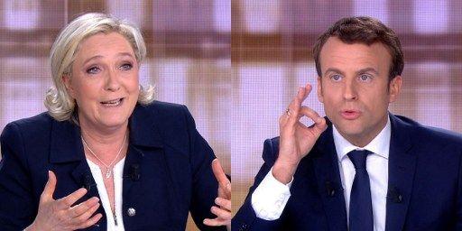L'entourage d'Emmanuel Macron dément les insinuations de Marine Le Pen sur un prétendu compte offshore